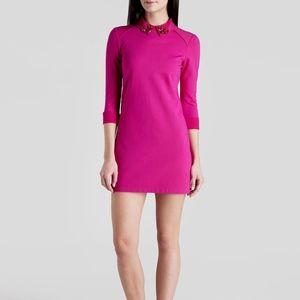 Ted Baker Pink Dress - Eelah Embellished mini.